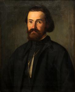Е. Бучевський. Портрет священика Епіфанія Бачинського.