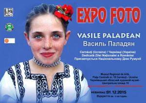 Afis EXPO FOTO- Vasile Paladean